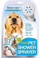 dog bath & shower supplies